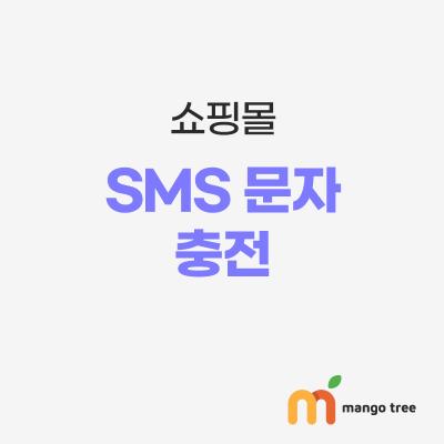 SMS 문자 충전 1,000건